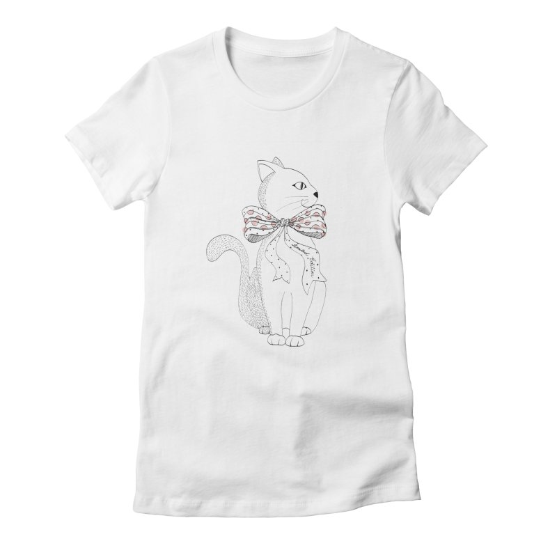 limited edition Women's Fitted T-Shirt by nyc917's Artist Shop