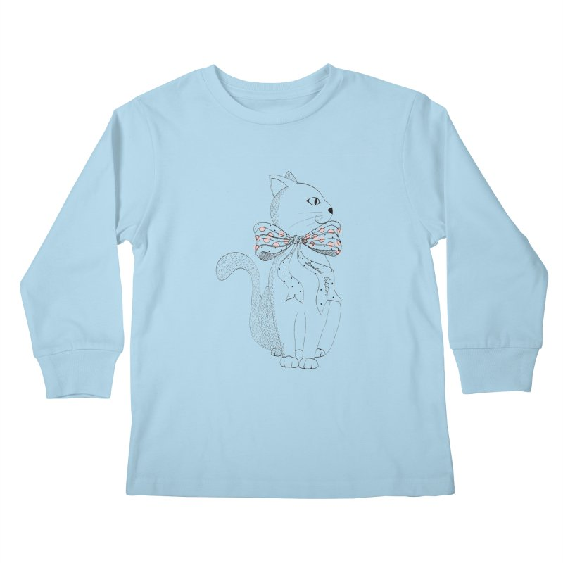 limited edition Kids Longsleeve T-Shirt by nyc917's Artist Shop