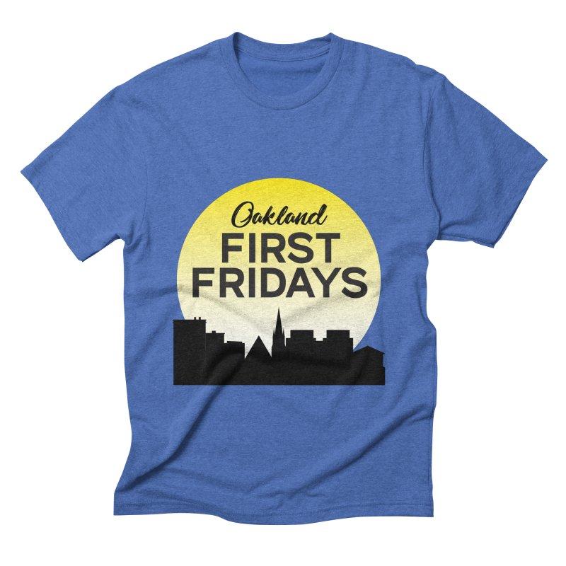 Oakland First Fridays (Sundown Logo) Men's T-Shirt by Oakland First Fridays Store