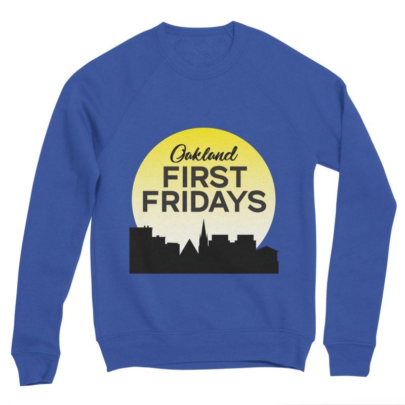Oakland First Fridays (Sundown Logo) Men's Sweatshirt by Oakland First Fridays Store