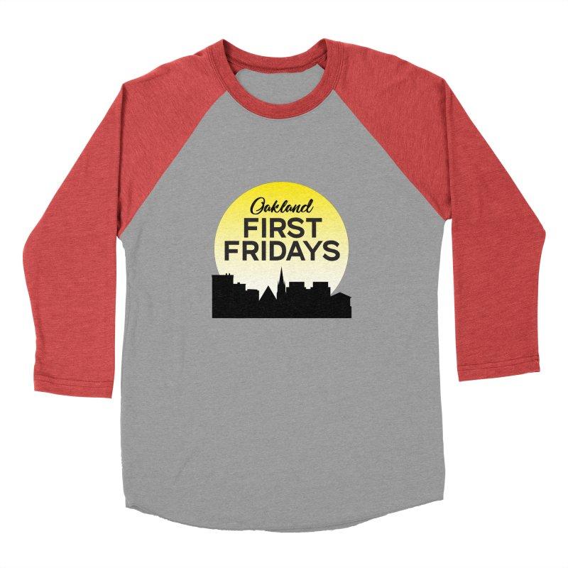 Oakland First Fridays (Sundown Logo) Men's Longsleeve T-Shirt by Oakland First Fridays Store