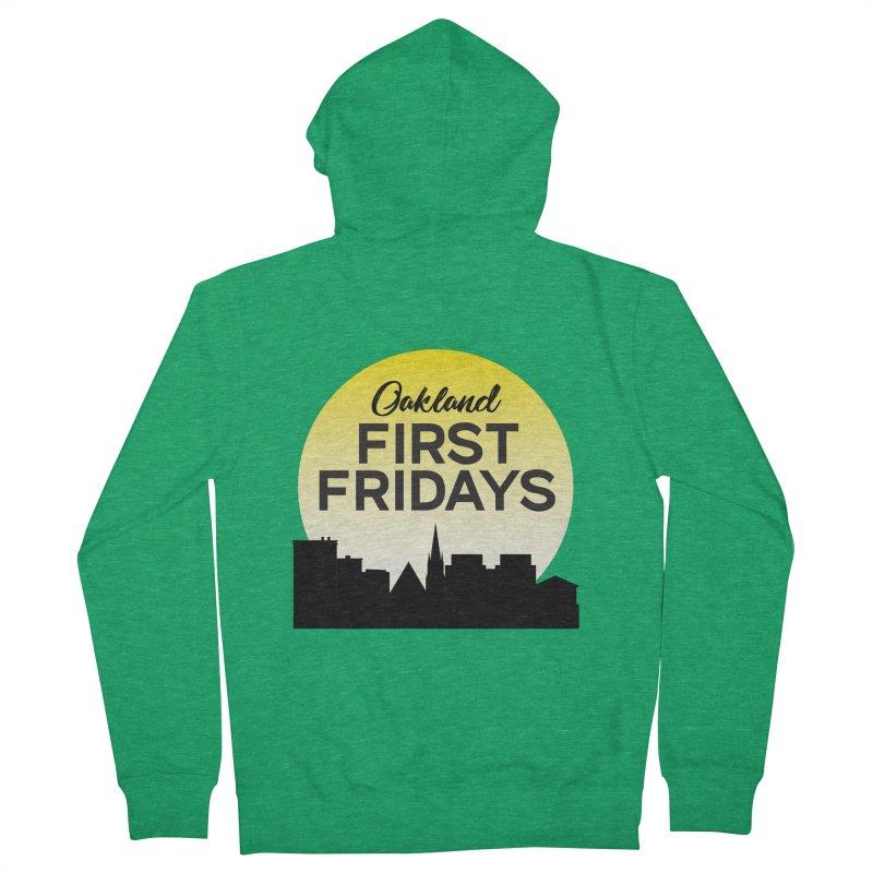 Oakland First Fridays (Sundown Logo) Women's Zip-Up Hoody by Oakland First Fridays Store
