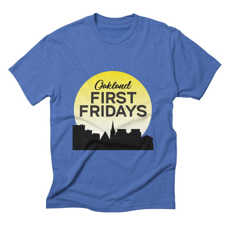 Oakland First Fridays (Sundown Logo) Men's T-Shirt by Oakland First Fridays Store