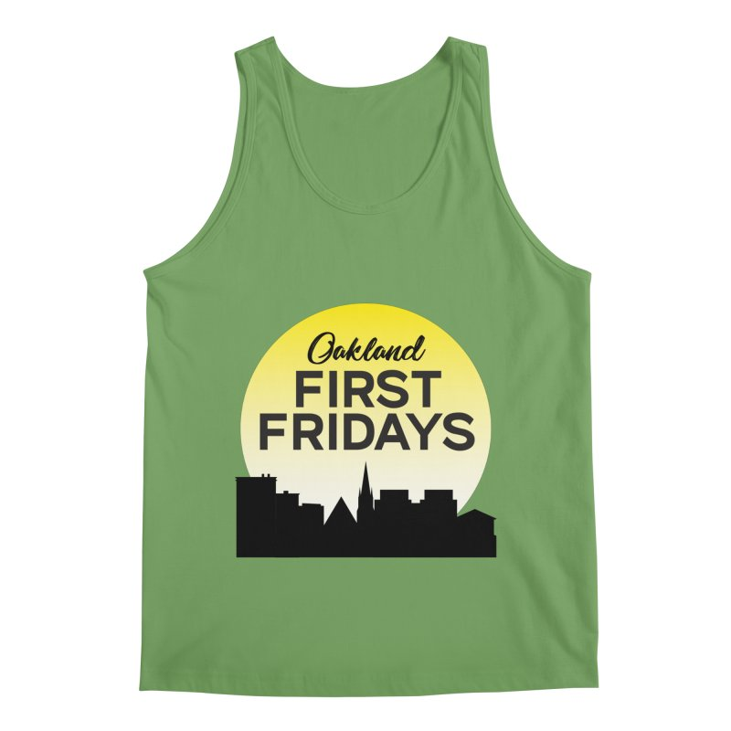 Oakland First Fridays (Sundown Logo) Men's Tank by Oakland First Fridays Store