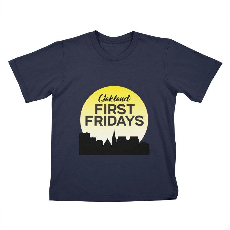 Oakland First Fridays (Sundown Logo) Kids T-Shirt by Oakland First Fridays Store