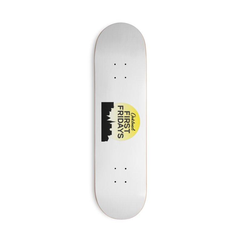 Oakland First Fridays (Sundown Logo) Accessories Skateboard by Oakland First Fridays Store