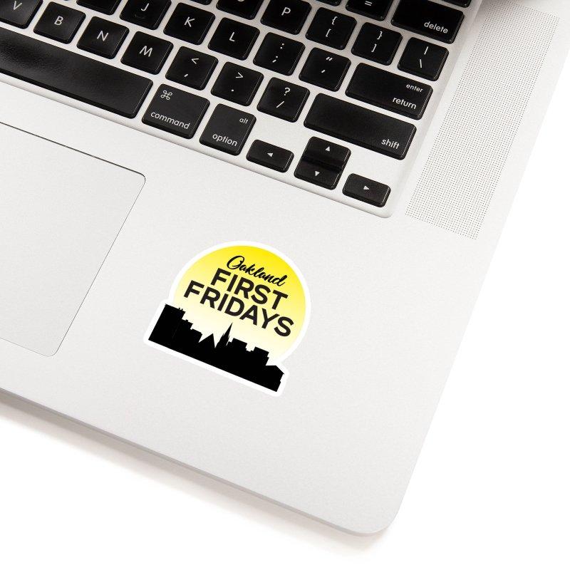 Oakland First Fridays (Sundown Logo) Accessories Sticker by Oakland First Fridays Store