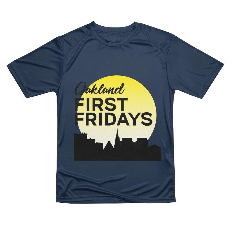 Oakland First Fridays (Left Sundown Logo) Women's T-Shirt by Oakland First Fridays Store
