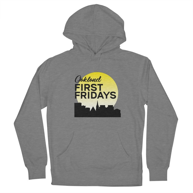 Oakland First Fridays (Left Sundown Logo) Women's Pullover Hoody by Oakland First Fridays Store
