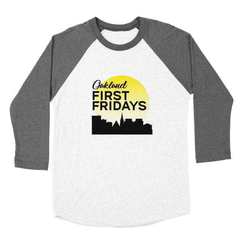 Oakland First Fridays (Left Sundown Logo) Women's Longsleeve T-Shirt by Oakland First Fridays Store