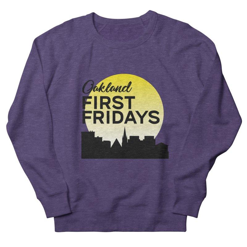 Oakland First Fridays (Left Sundown Logo) Men's Sweatshirt by Oakland First Fridays Store