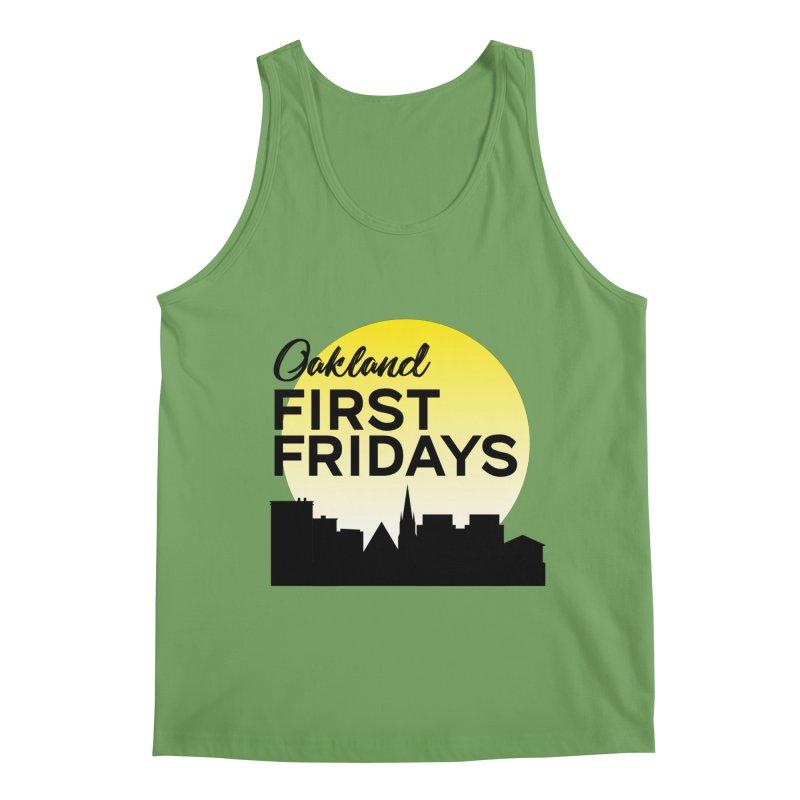 Oakland First Fridays (Left Sundown Logo) Men's Tank by Oakland First Fridays Store