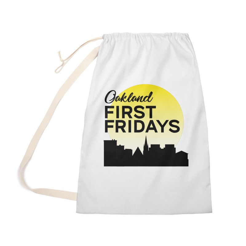 Oakland First Fridays (Left Sundown Logo) Accessories Bag by Oakland First Fridays Store