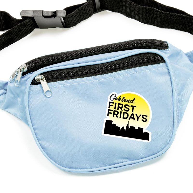 Oakland First Fridays (Left Sundown Logo) Accessories Sticker by Oakland First Fridays Store