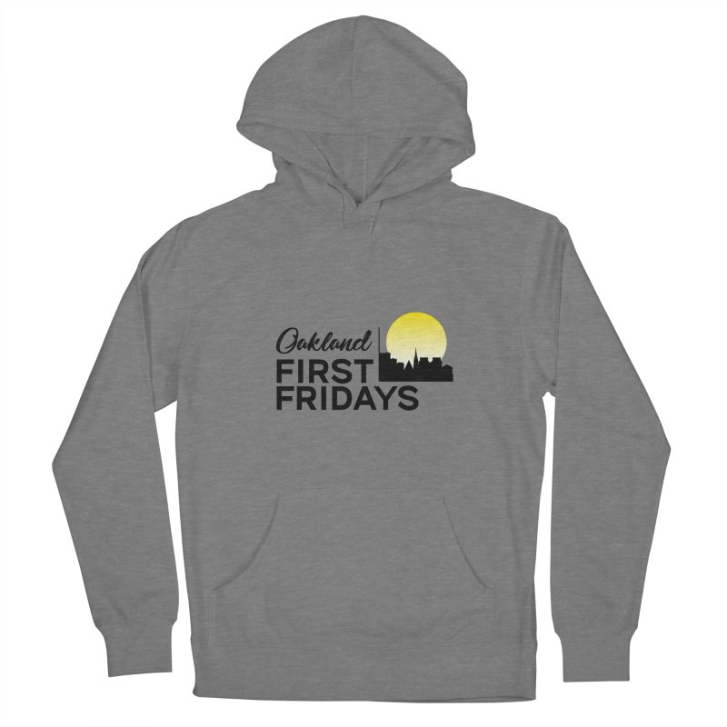 Oakland First Fridays (Text Logo) Women's Pullover Hoody by Oakland First Fridays Store