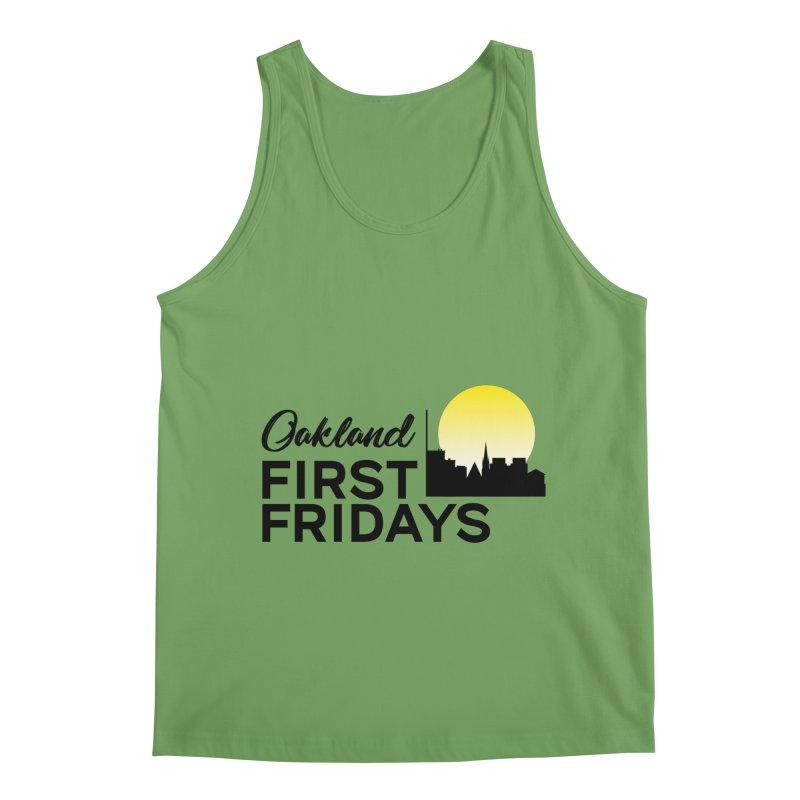 Oakland First Fridays (Text Logo) Men's Tank by Oakland First Fridays Store