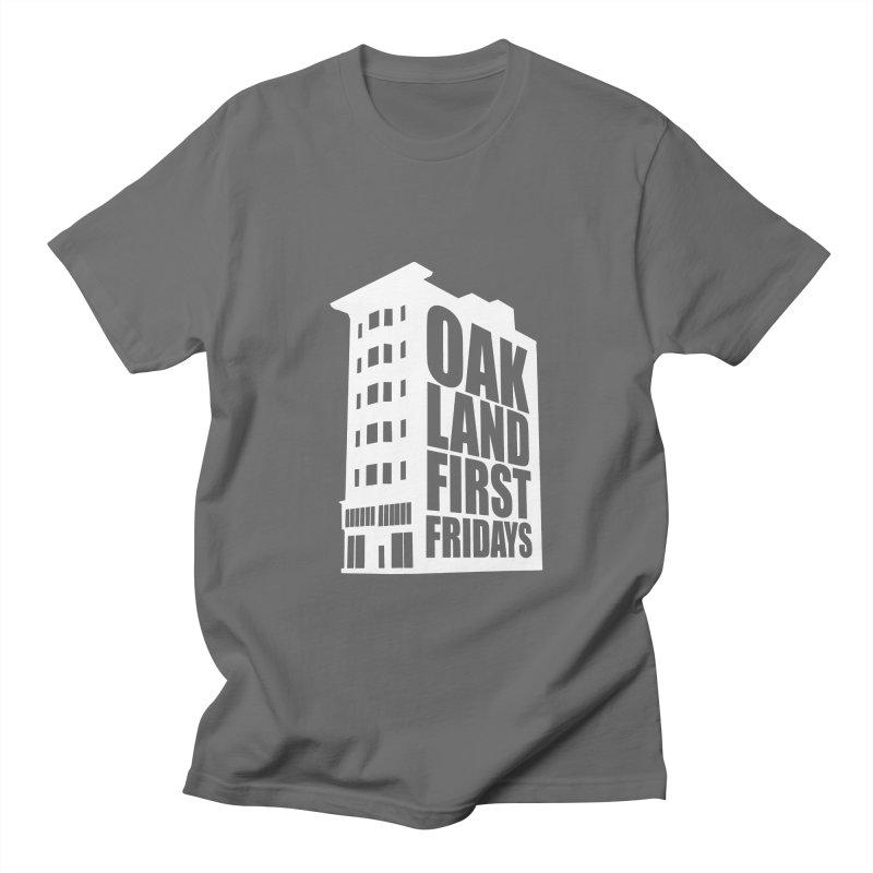 Oakland First Fridays (Building Logo) Men's T-Shirt by Oakland First Fridays Store