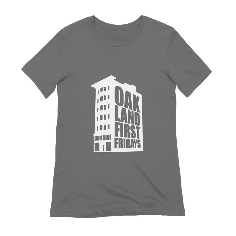 Oakland First Fridays (Building Logo) Women's T-Shirt by Oakland First Fridays Store
