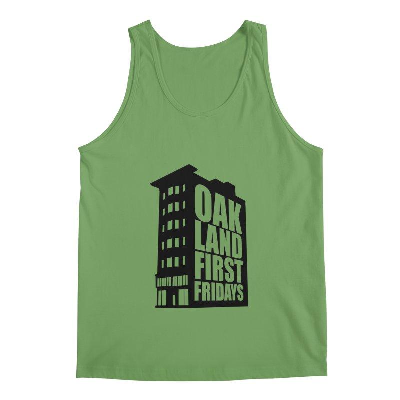 Oakland First Fridays (Building Logo Blk) Men's Tank by Oakland First Fridays Store