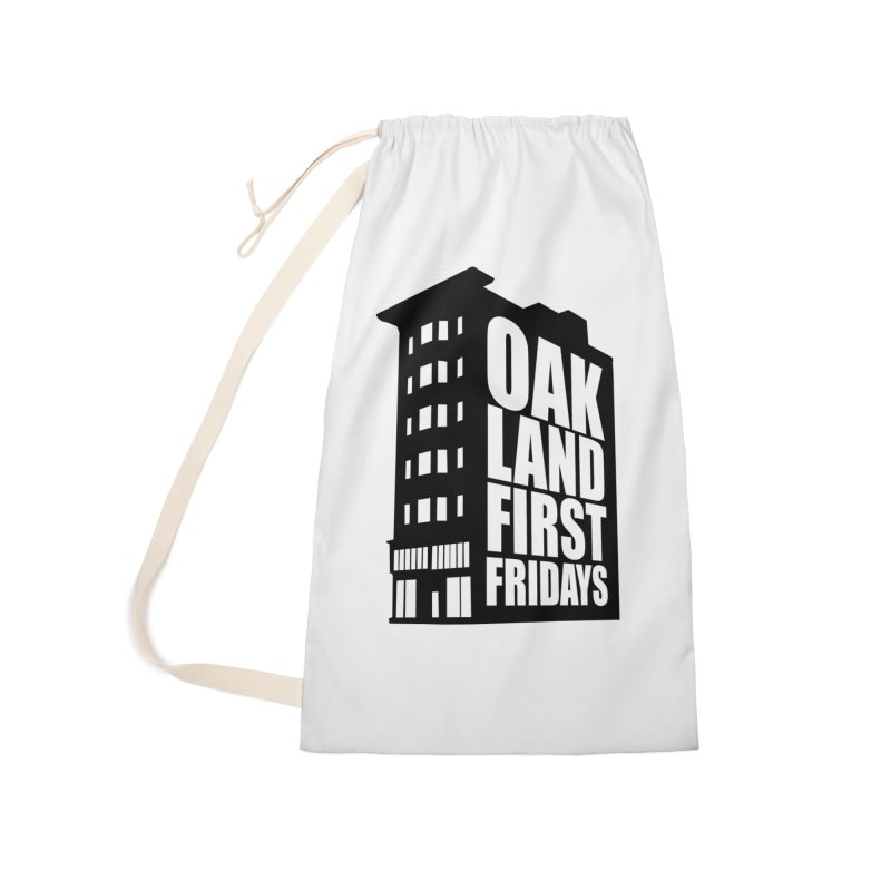 Oakland First Fridays (Building Logo Blk) Accessories Bag by Oakland First Fridays Store