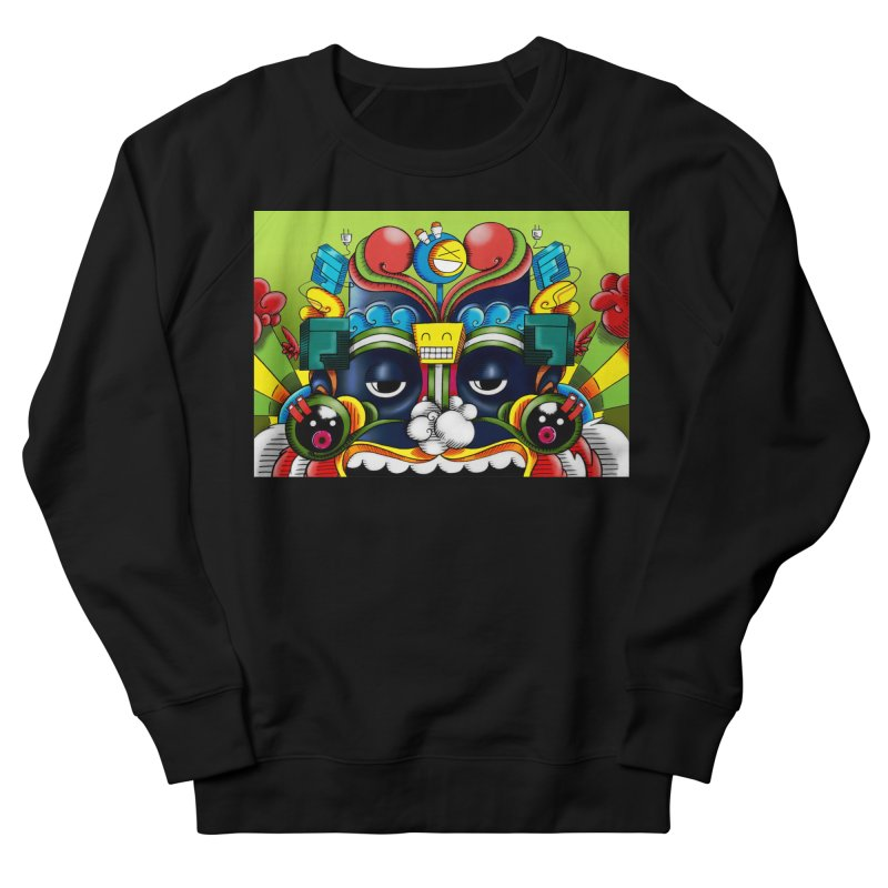 Monkey Business Women's Sweatshirt by Oaktree's Artist Shop
