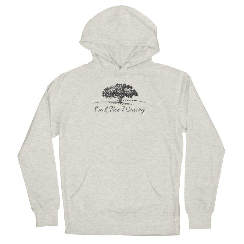 Oak Tree Winery Black Label Men's French Terry Pullover Hoody by Oak Tree Winery's Shop