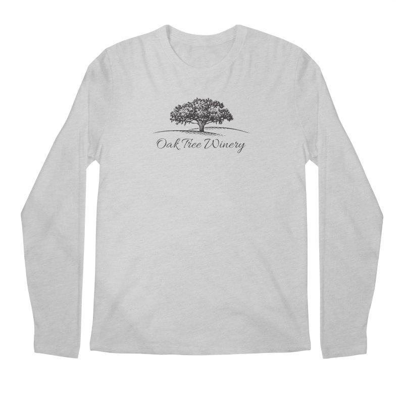 Oak Tree Winery Black Label Men's Regular Longsleeve T-Shirt by Oak Tree Winery's Shop