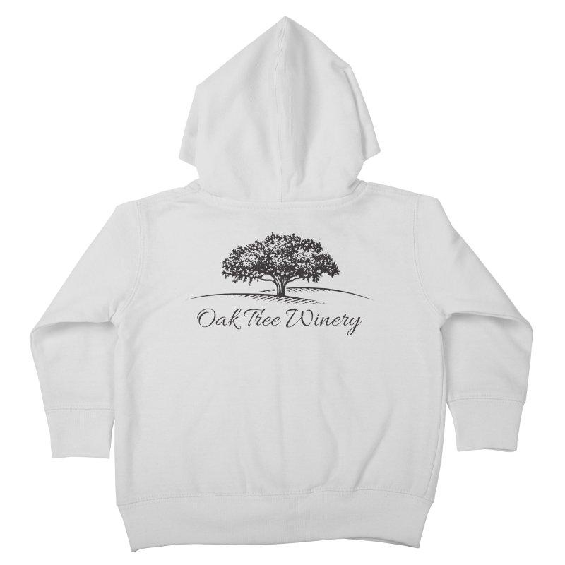 Oak Tree Winery Black Label Kids Toddler Zip-Up Hoody by Oak Tree Winery's Shop