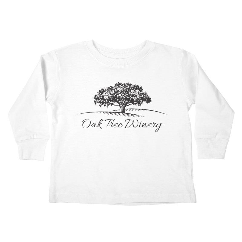 Oak Tree Winery Black Label Kids Toddler Longsleeve T-Shirt by Oak Tree Winery's Shop