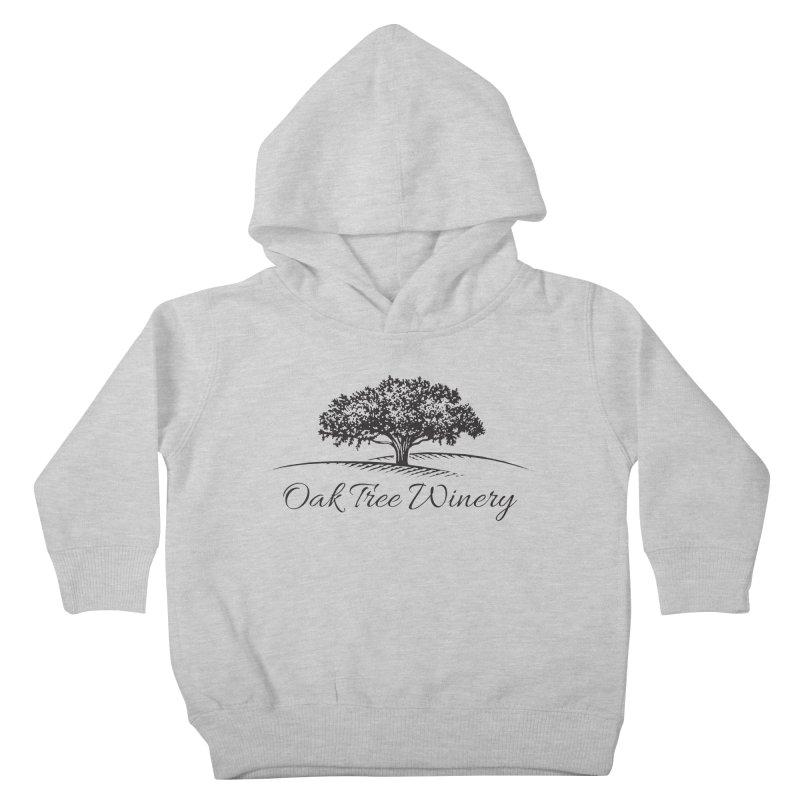 Oak Tree Winery Black Label Kids Toddler Pullover Hoody by Oak Tree Winery's Shop