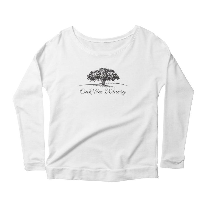 Oak Tree Winery Black Label Women's Scoop Neck Longsleeve T-Shirt by Oak Tree Winery's Shop
