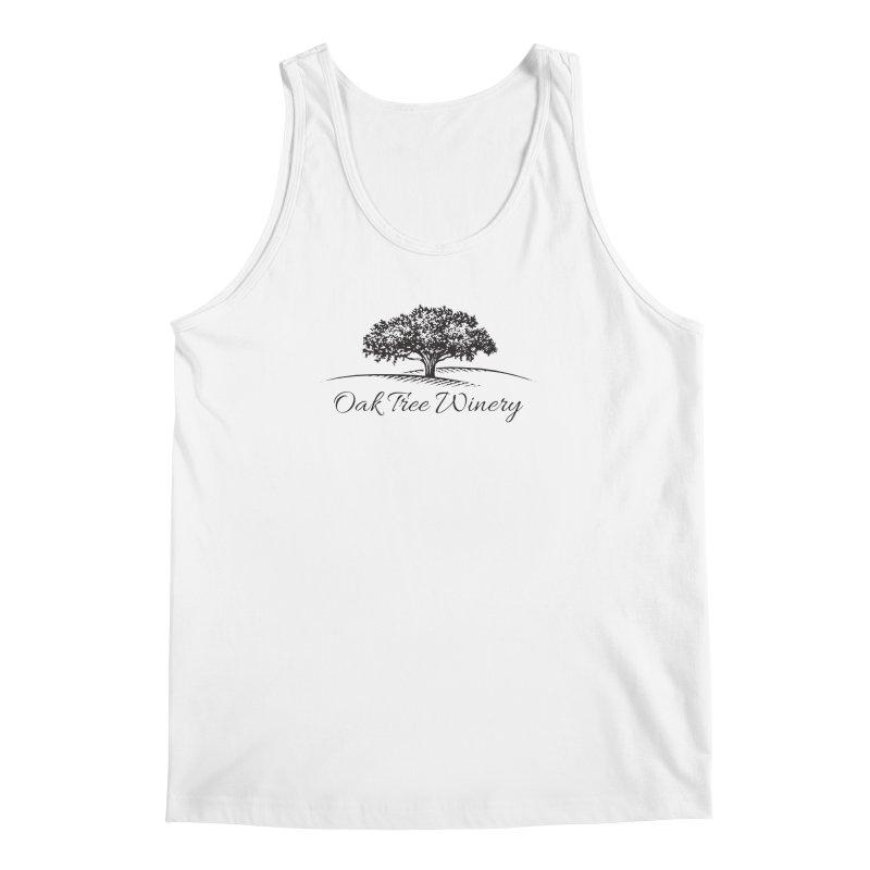 Oak Tree Winery Black Label Men's Regular Tank by Oak Tree Winery's Shop
