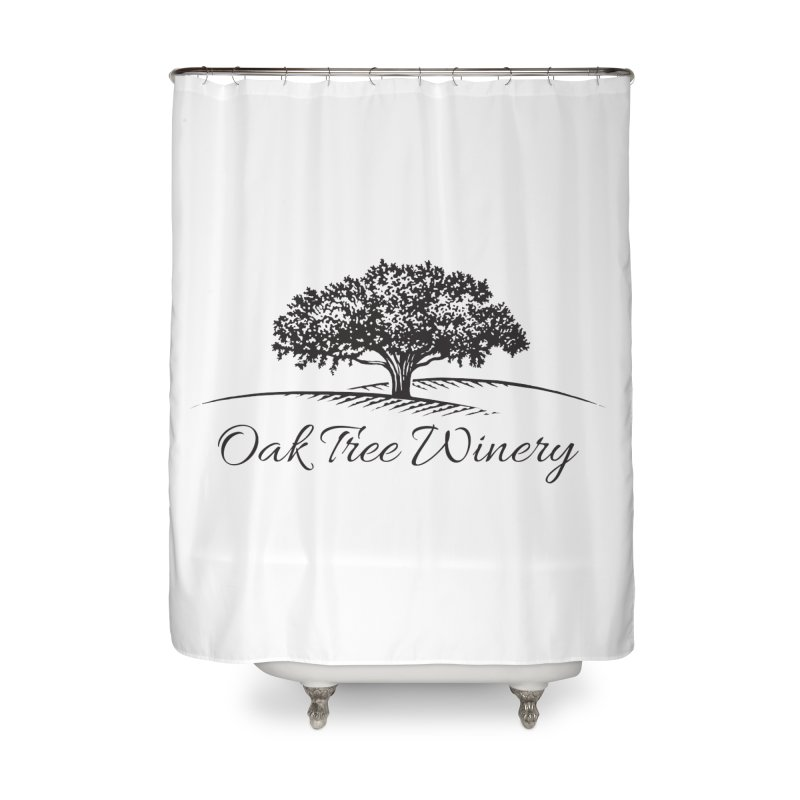 Oak Tree Winery Black Label Home Shower Curtain by Oak Tree Winery's Shop