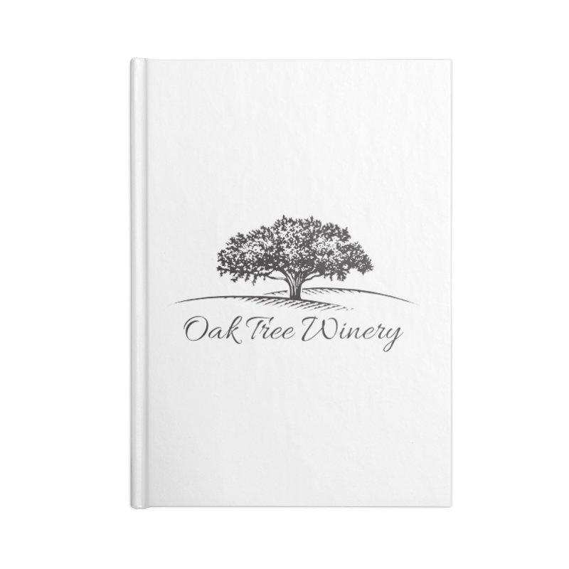 Oak Tree Winery Black Label Accessories Blank Journal Notebook by Oak Tree Winery's Shop