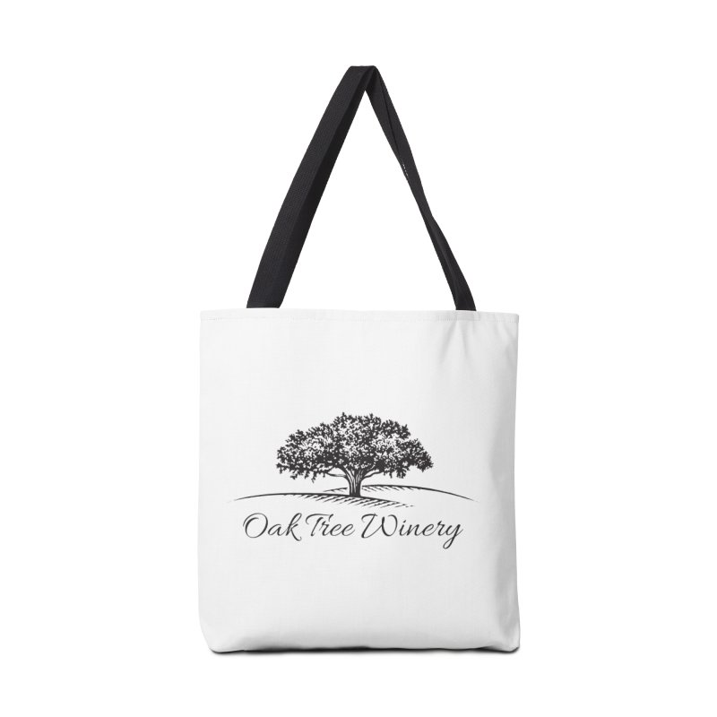 Oak Tree Winery Black Label Accessories Bag by Oak Tree Winery's Shop