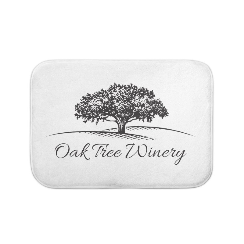 Oak Tree Winery Black Label Home Bath Mat by Oak Tree Winery's Shop
