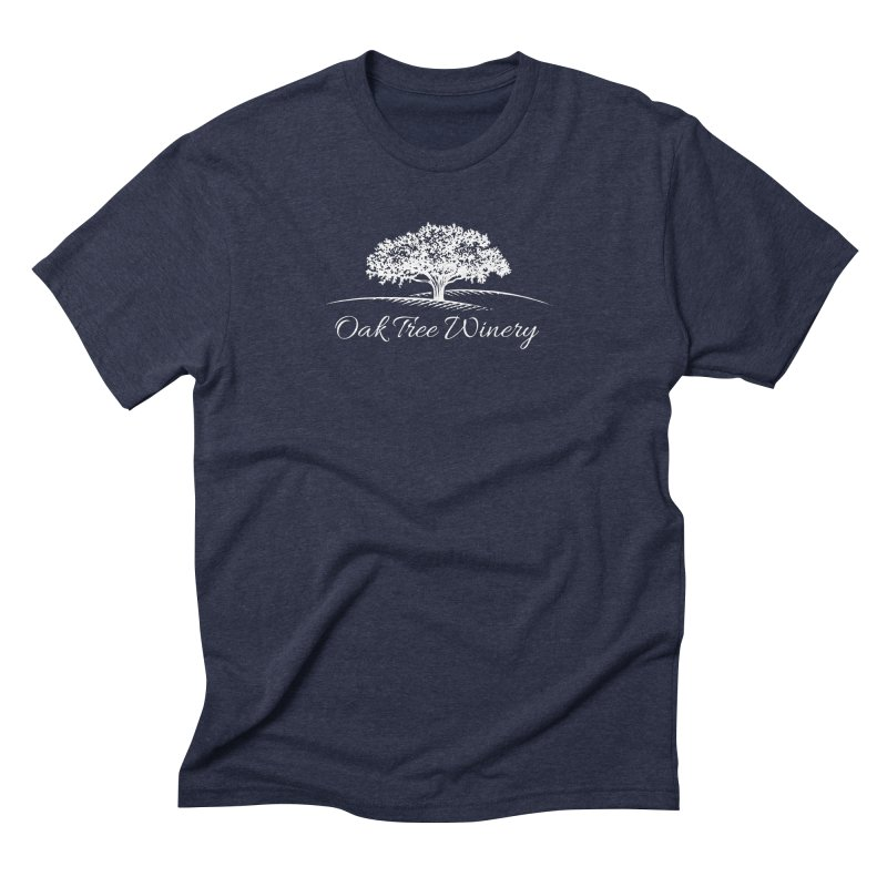 Oak Tree Winery White Label Men's Triblend T-Shirt by Oak Tree Winery's Shop