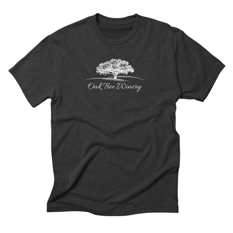 Oak Tree Winery White Label Men's Triblend T-Shirt by Oak Tree Winery's Shop