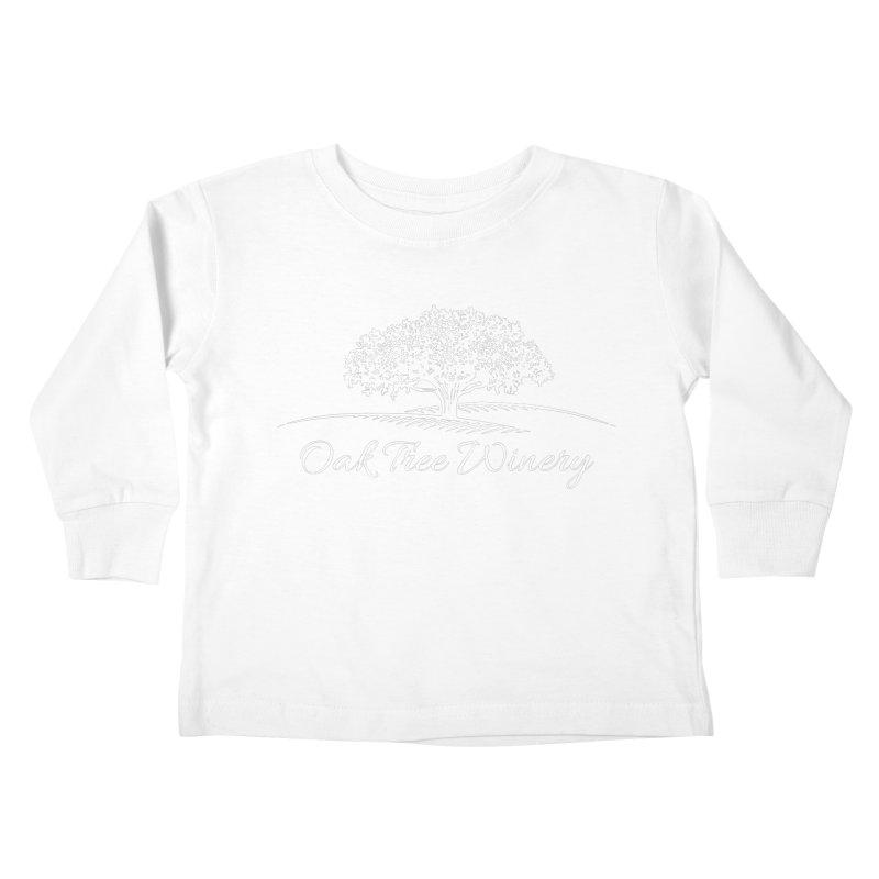 Oak Tree Winery White Label Kids Toddler Longsleeve T-Shirt by Oak Tree Winery's Shop