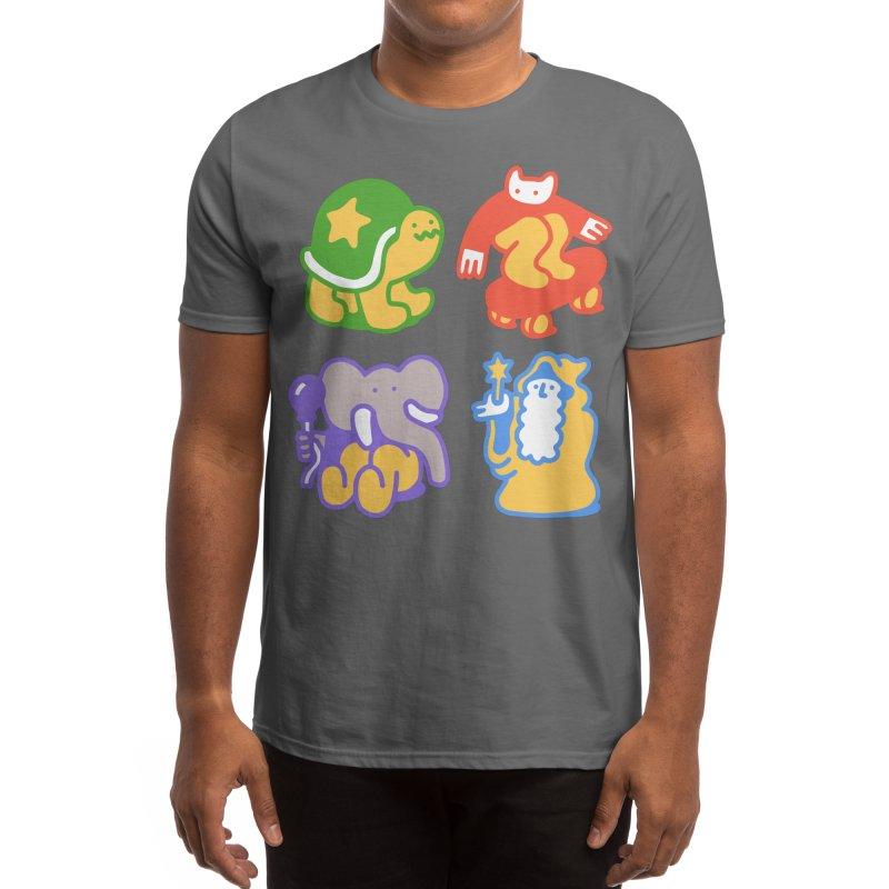 Doodle Buddies Men's T-Shirt by obinsun
