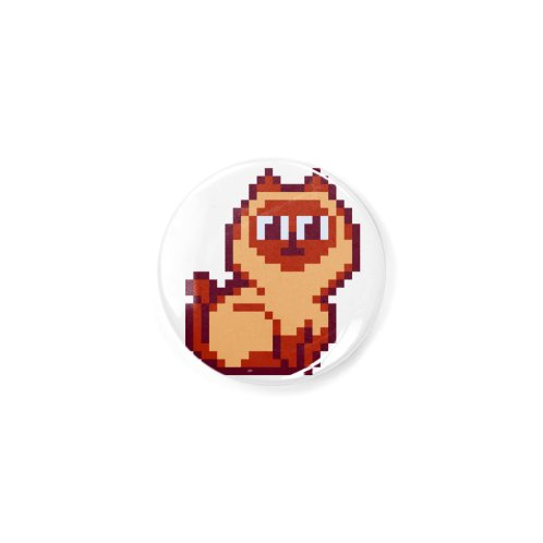 image for Siamese Cat Pixel Art