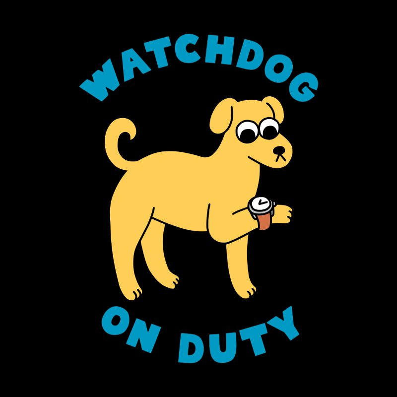 Watchdog On Duty Men's T-Shirt by obinsun