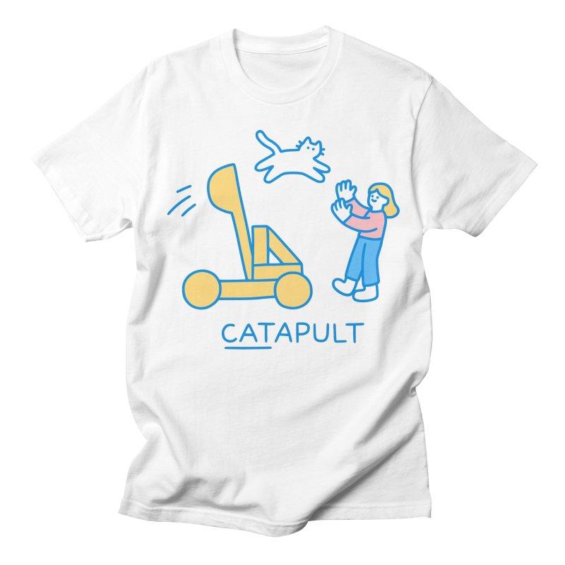 Catapult! Men's T-Shirt by obinsun