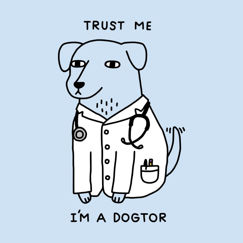 Dogtor Men's T-Shirt by obinsun