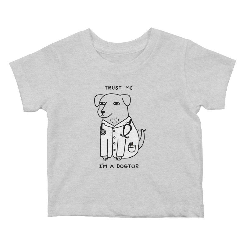 Dogtor Kids Baby T-Shirt by obinsun