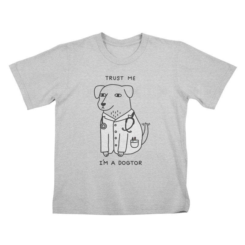 Dogtor Kids T-Shirt by obinsun