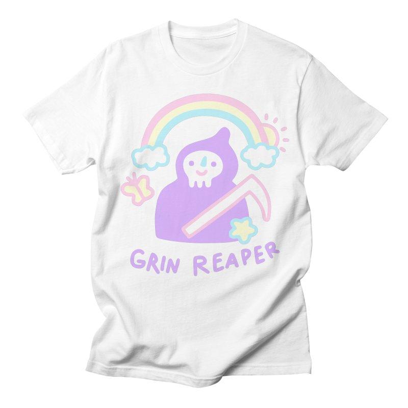 Grin Reaper Men's T-Shirt by obinsun
