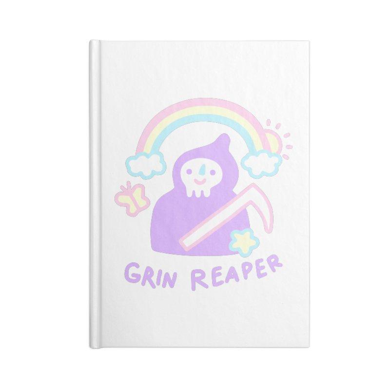 Grin Reaper Accessories Notebook by obinsun