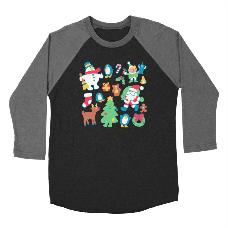 Christmas Friends Women's Longsleeve T-Shirt by obinsun