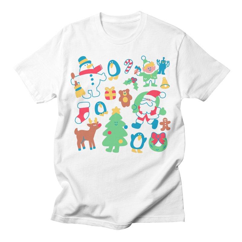 Christmas Friends Men's T-Shirt by obinsun